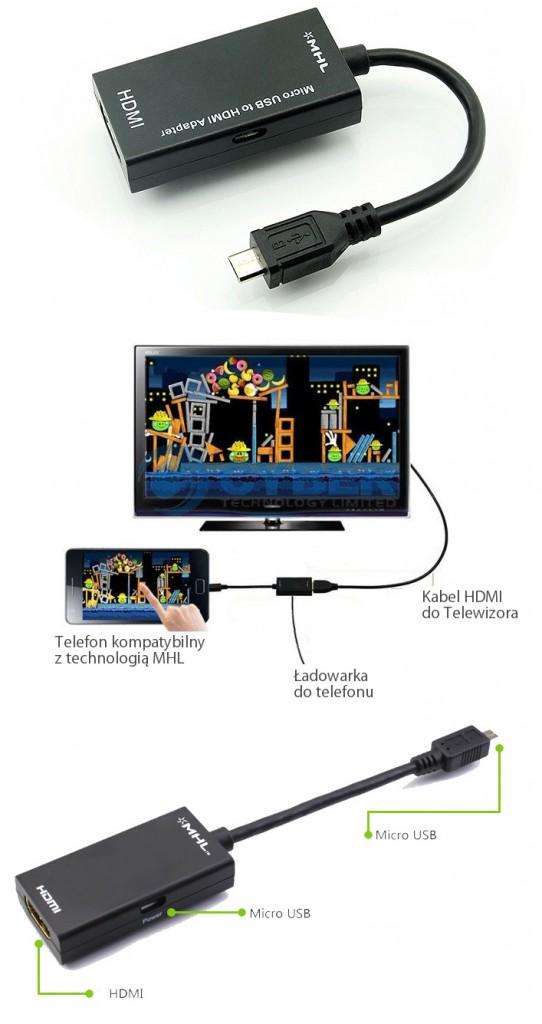 adapter kabel micro usb hdmi mhl. Black Bedroom Furniture Sets. Home Design Ideas