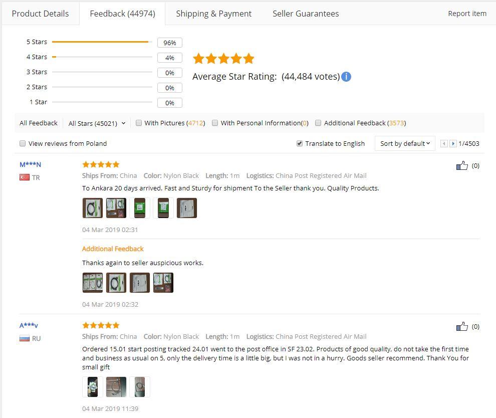 3563a6f5f Planujesz zakupy z Chin? Wskazówki i porady [Aliexpress, Gearbest ...